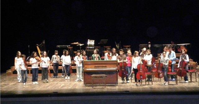 Orchestra Archistorti, i giovani musicisti suonano a San Vittore a fianco di Dario Fo