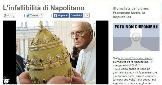 """Grillo, nuovo attacco alla stampa: """"Giornalista del giorno"""" Francesco Merlo"""