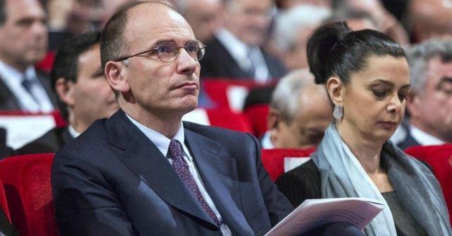 Enrico Letta e Laura Boldrini