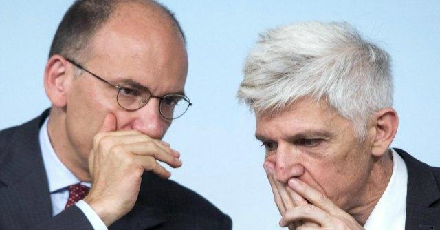 Enrico Letta e Massimo Bray