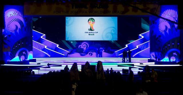 """Mondiali Brasile 2014, c'è Dilma Rousseff: il sorteggio è """"militarizzato"""""""