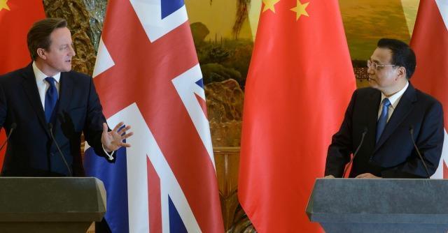 """La Cina scarica Cameron: """"Il Regno Unito? Non è più una grande potenza"""""""