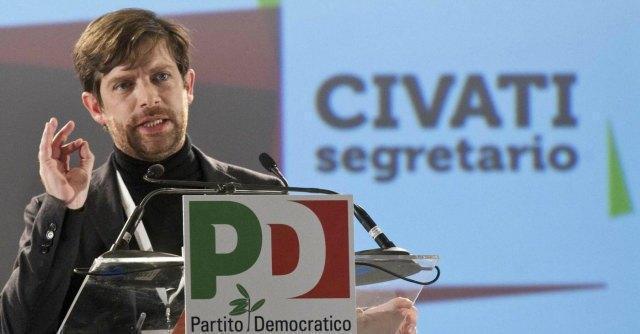 """Bologna, Civati convoca i suoi: """"Voterei no alla fiducia, ma non voglio lasciare Pd"""""""