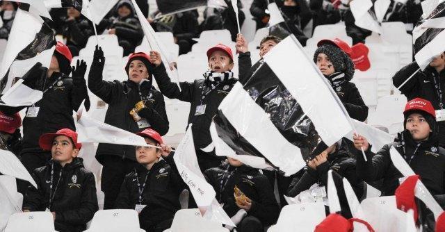 Juventus-Udinese, 5mila euro di multa per gli insulti dei bambini in curva