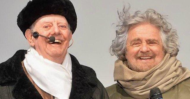 Dario Fo e Beppe Grillo