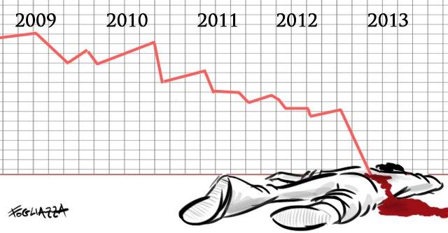 2013 con il Fatto Emilia Romagna: caos Pd, fabbriche all'estero e dimissioni Idem