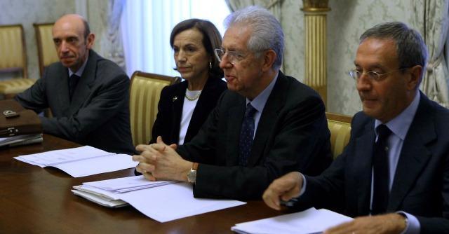 Antonio Mastrapasqua ed Elsa Fornero