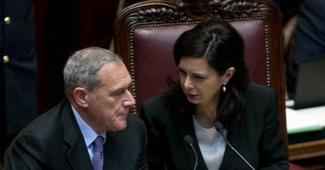 Pietro Grasso e Laura Boldrini