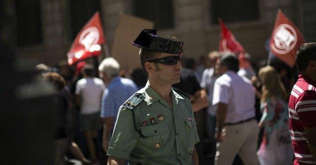 Guardia civil Spagna