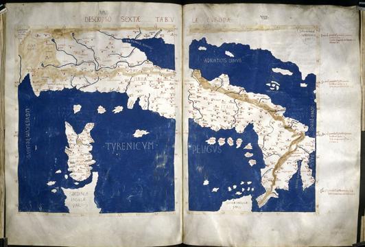 British Library, l'Italia capovolta