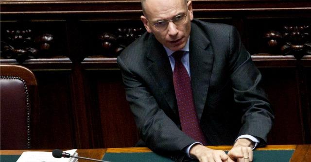 Letta accelera su contratto di coalizione: al via consultazioni, slitta vertice italo-turco