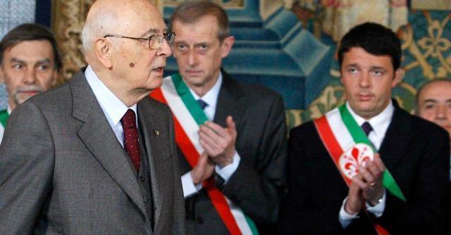 Napolitano e Renzi