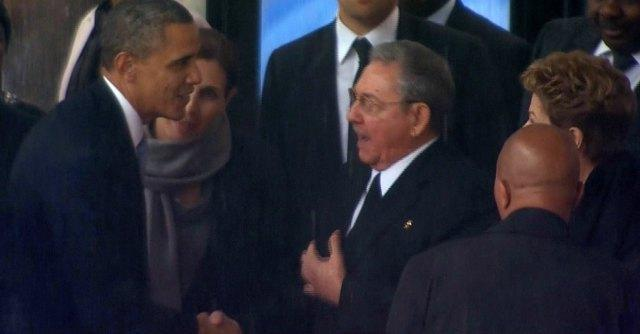 Obama e Raul Castro
