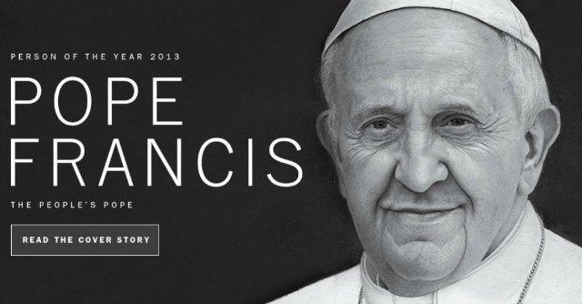 Papa Francesco su Time