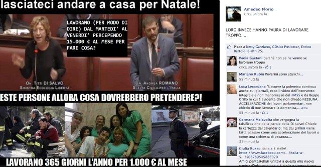 M5S, minacce di morte ai politici nei commenti a un post di Grillo su Facebook
