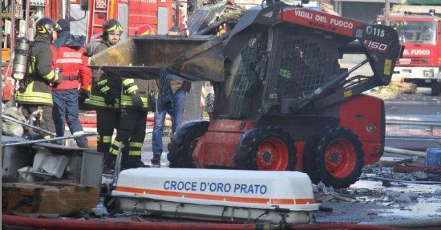 Prato, a fuoco fabbrica-dormitorio gestita da cinesi. Sette vittime
