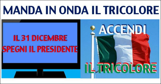 """""""Spegni Giorgio e usa il tricolore"""". Forza Italia boicotta il discorso di fine anno"""