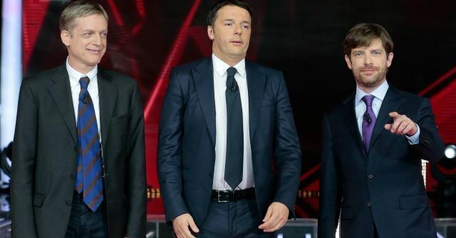 Gianni Cuperlo, Matteo Renzi e Giuseppe Civati