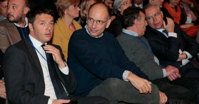 Renzi e Letta