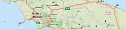 Forte scossa di terremoto nel centro-sud tra Caserta e Benevento, magnitudo 4.9