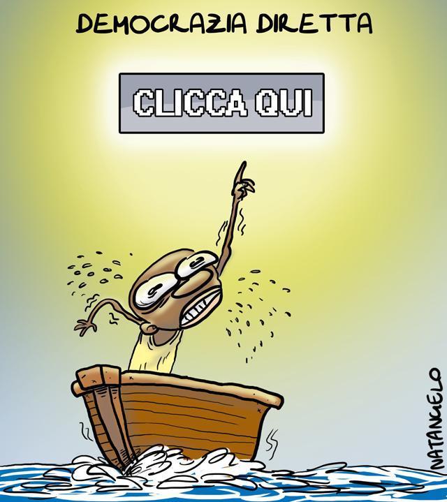 La vignetta del giorno: Immigrazione clandestina
