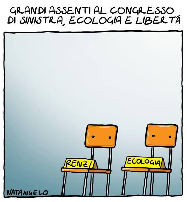 La vignetta del giorno: Sinistra, Ilva e Libertà