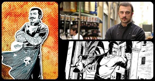 Chef Rubio a fumetti