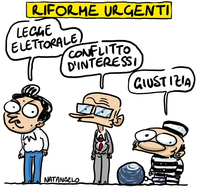 La vignetta del giorno: Riforme urgenti