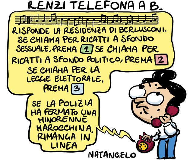 La vignetta del giorno: Telefona a casa B