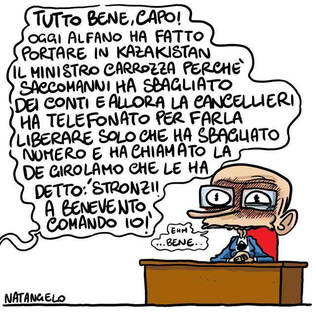 La vignetta del giorno: Tutto Bene, Enrico Letta