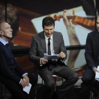Con Fazio e Saviano a Che tempo che fa, 2010