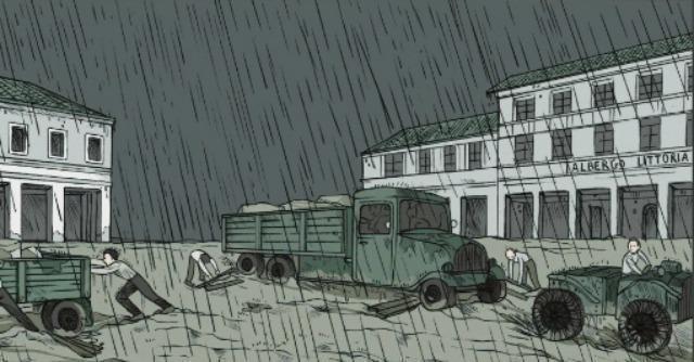 Canale Mussolini a fumetti. Le tavole con la storia dei Peruzzi nell'Agro Pontino