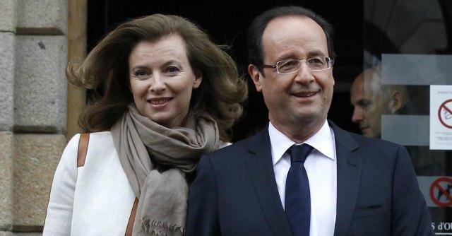 Francois Hollande e Valerie Trierweiler