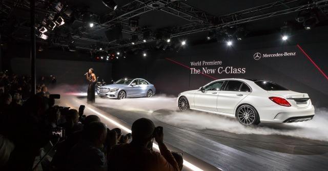 Mercedes Classe C al Salone di Detroit 2014