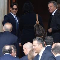 Pier Silvio Berlusconi e l'ad Mediaset Giuliano Andreani