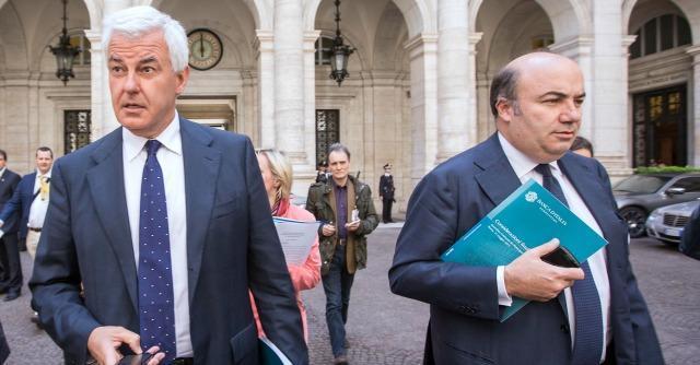 Alessandro Profumo e Fabrizio Viola