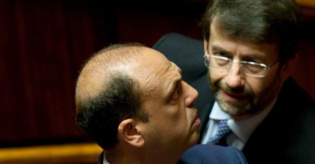 Angelino Alfano, Dario Franceschini, Enrico Letta