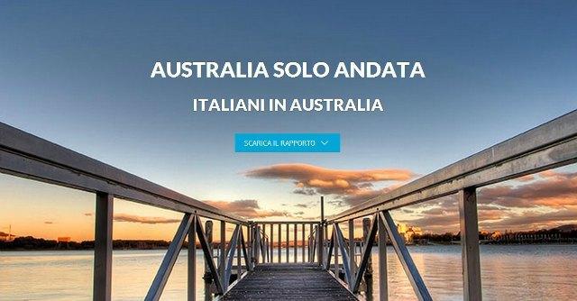 Australia solo andata