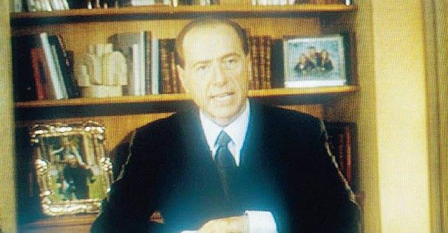 Videomessaggio Berlusconi