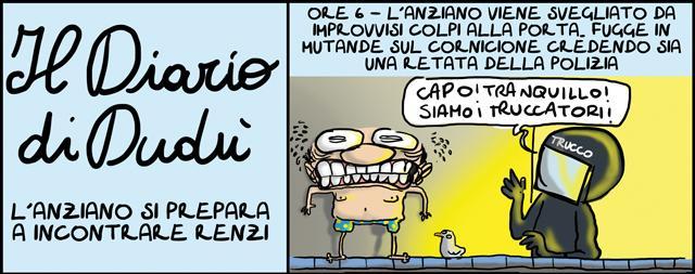 Renzi, Berlusconi e il loro incontro elegante