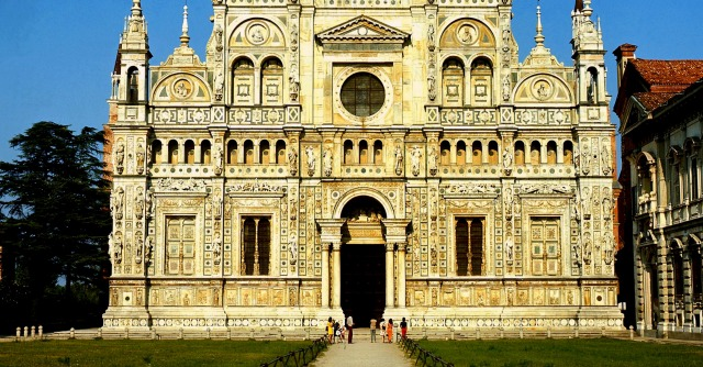 Certosa di Pavia, monaci \