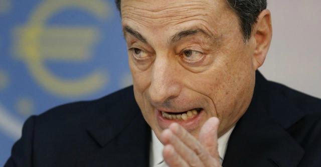 """Draghi fa mea culpa: """"Bce nel prevedere inflazione ha sottovalutato disoccupazione"""""""