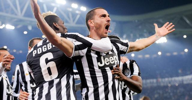 Serie A, la Juve travolge la Roma: 3 a 0 con reti di Vidal, Bonucci e Vucinic