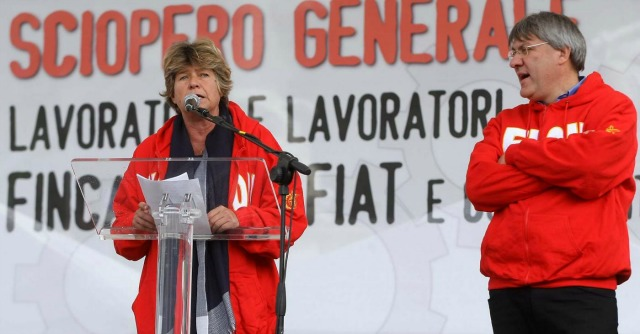 "Rappresentanza sindacale, Landini: ""Accordo introduce multe a chi si oppone"""