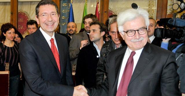 Ignazio Marino e Ivan Strozzi