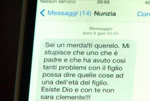 """Servizio Pubblico, Mastella e l'sms della De Girolamo: """"Sei una merda, ti querelo"""""""