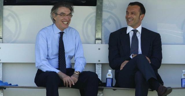 Massimo Moratti e Marco Branca