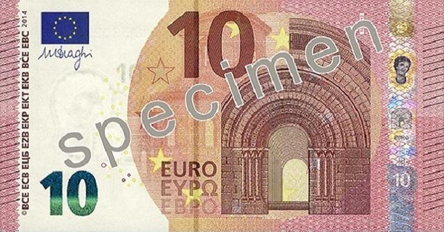 Nuove banconote 10 euro