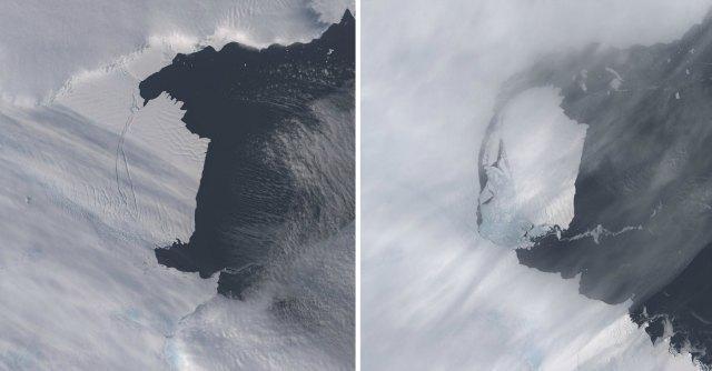 Pine Island ghiacciaio