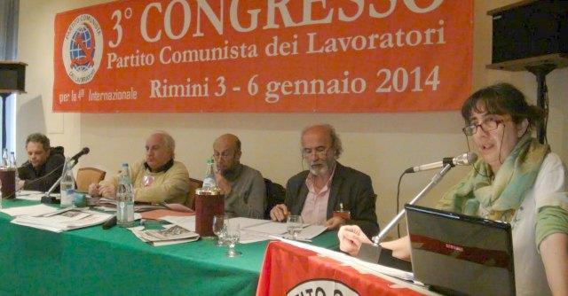 Rimini, i Comunisti di Ferrando: il congresso contro borghesia, Fiom e Pd